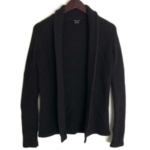 Theory Open Front Cardigan Wool Cashmere Blend